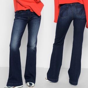 Size 28 7 For All Mankind Dojo Flare Jeans